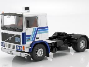 Volvo F12 Tractor year 1977 white / blue 1:18 Road Kings