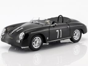 Steve McQueen Porsche 356A Speedster #71 black 1:18 AUTOart