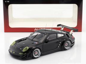 Porsche 911 (997) GT3 RSR Plain Body Edition 2010 schwarz 1:18 AUTOart