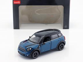 Mini Cooper S Countryman (R60) blau metallic / schwarz 1:24 Rastar