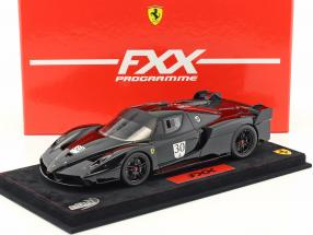 M. Schumacher Ferrari FXX Nero DS 1250 #30 with Showcase black 1:18 BBR