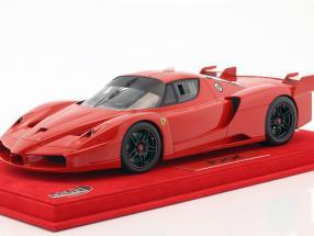 Ferrari FXX corsa rot mit Vitrine rot 1:18 BBR