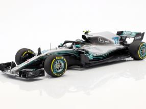 Valtteri Bottas Mercedes-AMG F1 W09 EQ Power  #77 Formel 1 2018 1:18 Minichamps