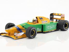 Martin Brundle Benetton B192 #20 3rd British GP F1 1992 1:18 Minichamps