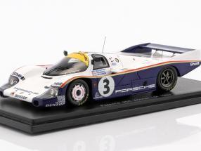 Porsche 956 #3 Holbert / Haywood / Schuppan Winner LeMans 1983 1:43 Spark