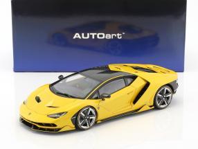 Lamborghini Centenario LP770-4 year 2017 orion yellow metallic 1:18 AUTOart