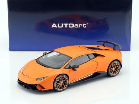 Lamborghini Huracan Performante Baujahr 2017 anthaeus orange 1:18 AUTOart