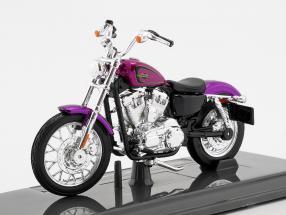 Harley-Davidson XL 1200V Seventy-Two Baujahr 2013 violett 1:18 Maisto