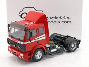 Mercedes-Benz SK 1748 Tractor year 1990 glow red 1:18 OttOmobile