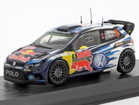 Volkswagen VW Polo R WRC #9 3rd Rallye Monte Carlo 2015 Mikkelsen, Floene 1:43 Direkt Collections