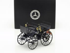 Daimler Motorized carriage blue 1:18 Norev