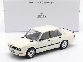 BMW M535i E28 Year 1986 white 1:18 Norev