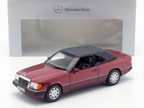 Mercedes-Benz 300 CE-24 (A124) Cabriolet almandin red metallic 1:18 Norev