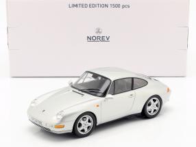 Porsche 911 (993) Carrera Coupe Year 1993 silver 1:18 Norev