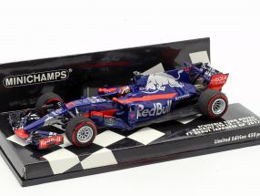 Pierre Gasly Toro Rosso STR12 #10 F1 Debut japanese GP 2017 1:43 Minichamps