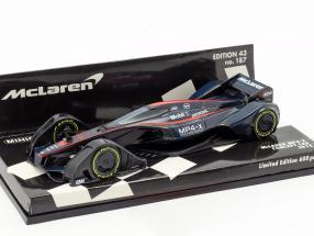 McLaren MP4-X Concept Car 2015 formula 1 1:43 Minichamps