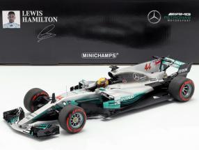 L. Hamilton Mercedes-AMG F1 W08 #44 Mexiko GP Weltmeister F1 2017 1:18 Minichamps