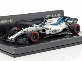 Lance Stroll Williams FW40 #18 Abu Dhabi GP formula 1 2017 1:43 Minichamps
