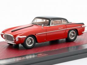 Ferrari 212 Inter Coupe Vignale year 1953 red / black 1:43 Matrix