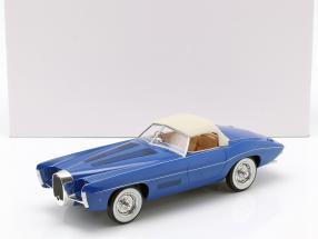 Bugatti T101C Exner-Ghia Closed Top year 1966 blue 1:18 Matrix