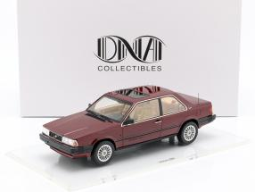 Volvo 780 year 1986 red metallic 1:18 DNA Collectibles
