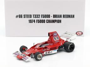 Brian Redman Lola T332 #66 F5000 Champion 1974 1:18 GMP