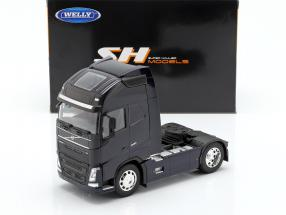 Volvo FH (4x2) Tractor year 2016 dark blue 1:32 Welly