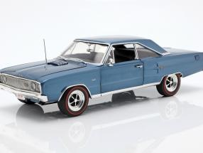 Dodge Coronet R/T Hemi year 1967 blue 1:18 GMP