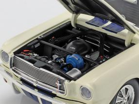 Shelby GT350 Supercharged year 1966 white with blue stripes