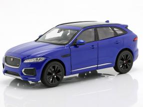 Jaguar F-Pace year 2016 blue