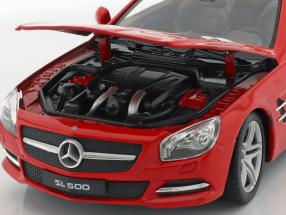Mercedes-Benz SL 500 year 2012 red