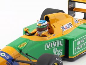 Michael Schumacher Benetton B192 #19 3rd Italy GP F1 1992