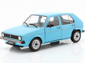 Volkswagen VW Golf I year 1983 Light Blue 1:18 Solido