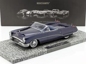 Buick Wildcat I Concept Year 1953 dark blue 1:18 Minichamps