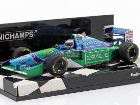 Jos Verstappen Benetton B194 #6 British GP formula 1 1994 1:43 Minichamps
