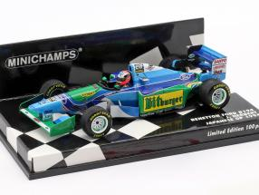 Johnny Herbert Benetton B194 #6 japanese GP formula 1 1994 1:43 Minichamps