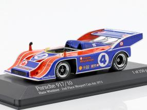 Porsche 917/10 #4 2nd Mosport Can-Am 1973 Hans Wiedmer 1:43 Minichamps