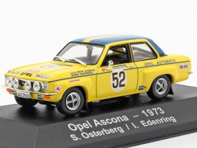 Opel Ascona A #52 Rallye Monte Carlo 1973 Österberg, Edenring 1:43 Atlas