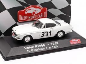 Volvo P1800 #331 Rallye Monte Carlo 1962 Bäcklund, Falk 1:43 Atlas