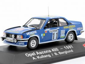 Opel Ascona 400 #11 4th Rallye Monte Carlo 1981 Kulläng, Berglund 1:43 Atlas