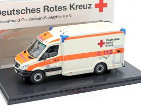 Mercedes-Benz Sprinter 319 cdi Miesen Baujahr 2018 Deutsches Rotes Kreuz 1:43 Matrix