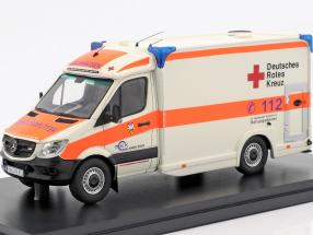 Mercedes-Benz Sprinter 319 cdi Miesen year 2018 German red cross 1:43 Matrix