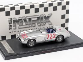 Mercedes-Benz 300 SLR #722 Winner Mille Miglia 1955 Moss, Jenkinson 1:43 Matrix