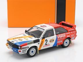 Audi Quattro A1 #2 Sieger Hunsrück Rallye 1984 Demuth, Lux 1:18 Ixo