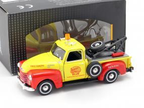 Chevrolet C3100 Abschleppwagen Shell gelb / rot 1:43 Cararama