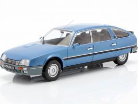 Citroen CX 2500 Prestige Phase 2 Baujahr 1986 blau metallic 1:24 WhiteBox