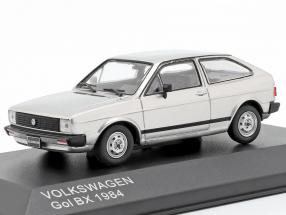 Volkswagen VW Gol BX Baujahr 1984 silber metallic 1:43 WhiteBox