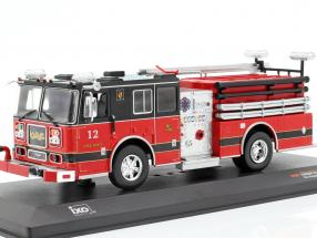 Seagrave Marauder II fire Department red / black 1:43 Ixo
