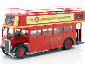 AEC Regent RT Open Top London Sightseeing year 1950 red 1:43 Ixo