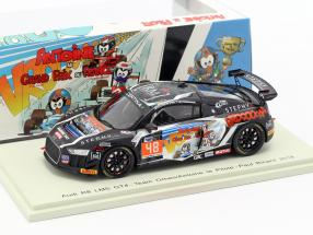 Audi R8 LMS GT4 #48 French GT4 Cup Paul Ricard 2018 Pernaut, Marie 1:43 Spark